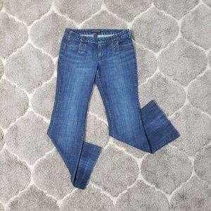 Banana Republic Wide Leg Sailor Jeans Size 8